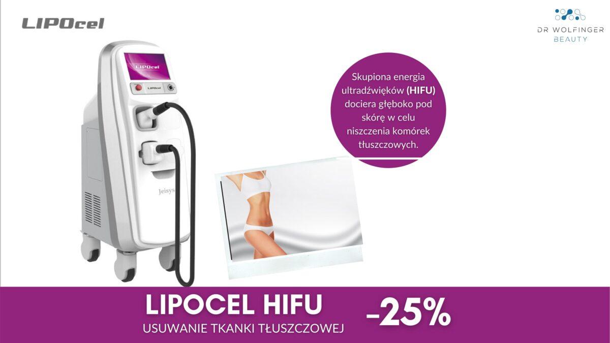 LipoCel HIFU – promocja -25%