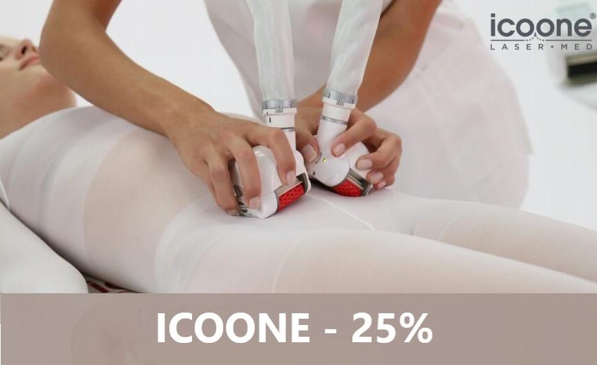 ICOONE Laser med II – 25% na zabiegi